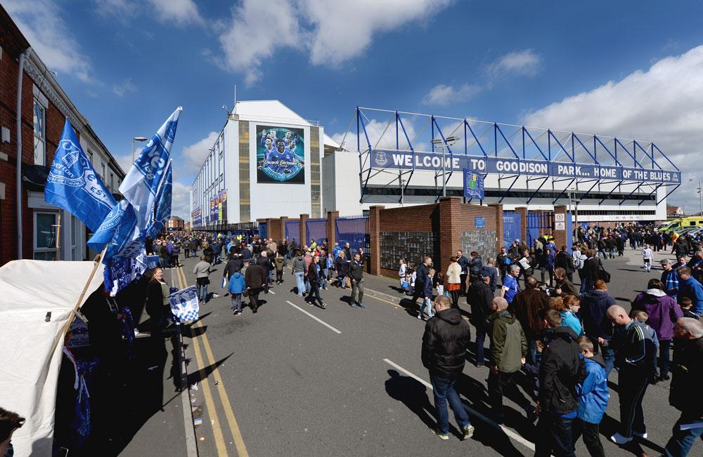 Everton Goodison Park Stadium Exterior