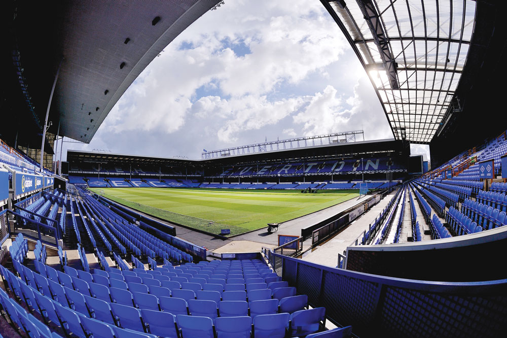 Everton Goodison Park Stadium Interior