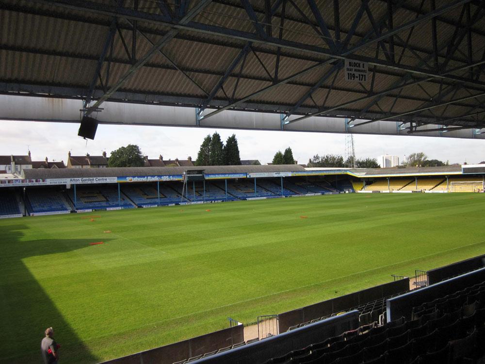 Southend United Footbal Club Stadium