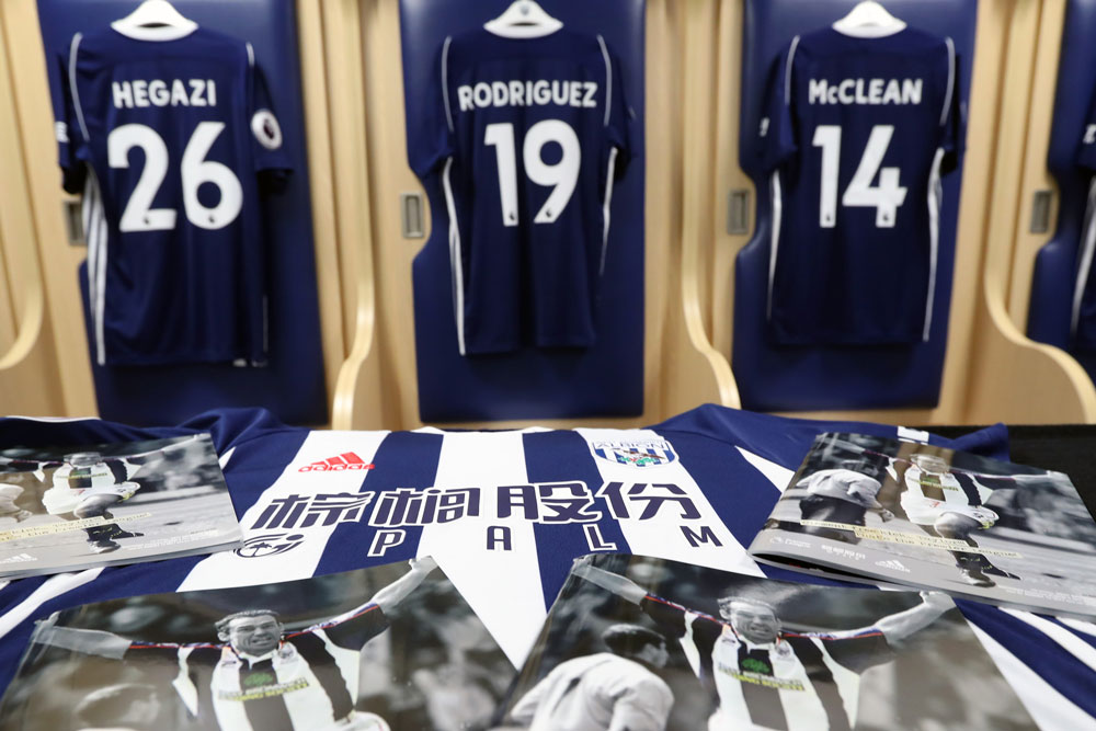 West Bromwich Albion Shirts and Programme