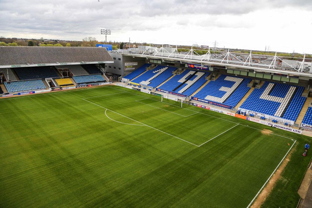 Peterborough United Inner stadium