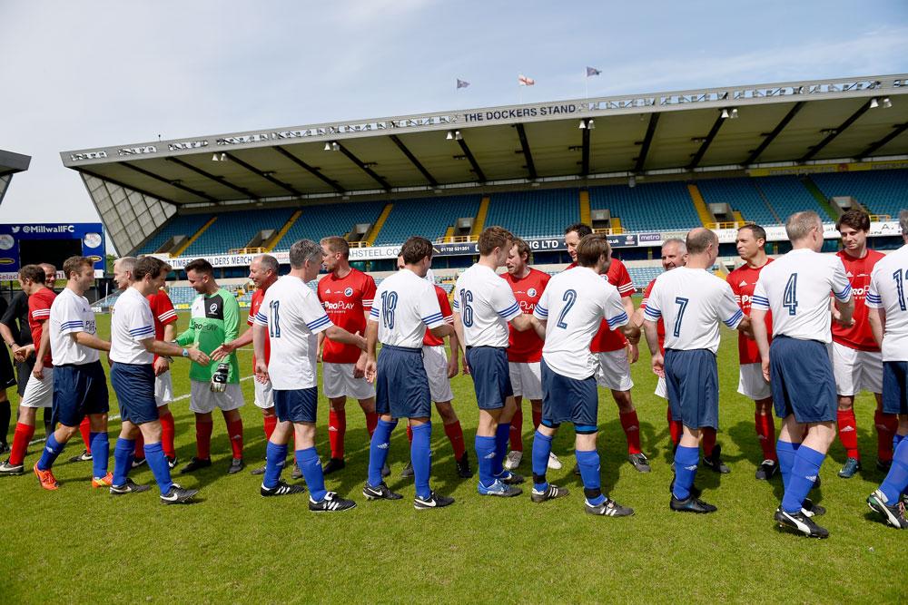 Millwall Handshakes