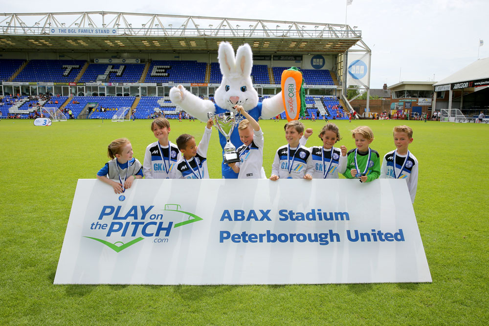 Play on the Pitch Peterborough Awards 2019 half term