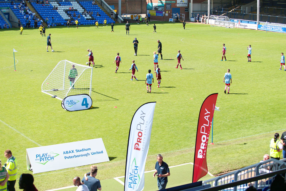 Play on the Pitch Peterborough Tournament 2019 half term