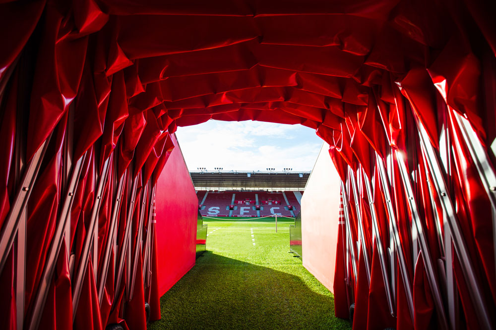 Southampton Stadium Tunnel